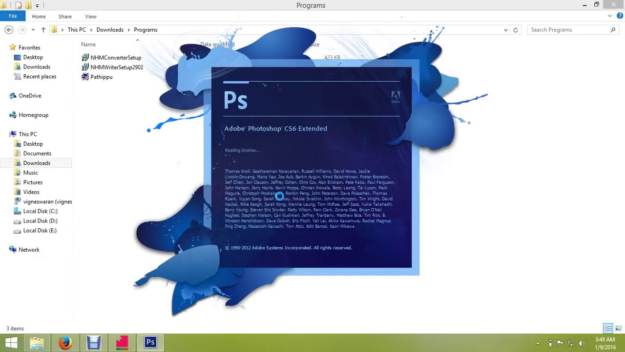 How to type tamil in photoshop cs6 youtube baditri Images
