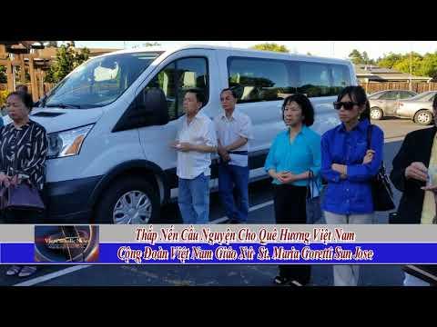 Thap Nen Cau Nguyen Cho Que Huong Viet Nam Cong Doan Viet Nam GX St Maria Goretti San Jose