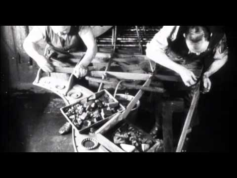 C. Bechstein - Piano craftsmanship then : corporate film 1926