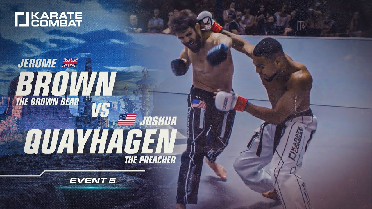 FULL FIGHT: Jerome Brown vs Joshua Quayhagen - Karate Combat S02E05