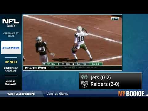 New York Jets vs. Oakland Raiders Full Game Highlights | NFL