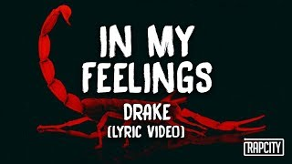 Drake - Kiki do you love me 'In My Feelings' (Lyric Video)