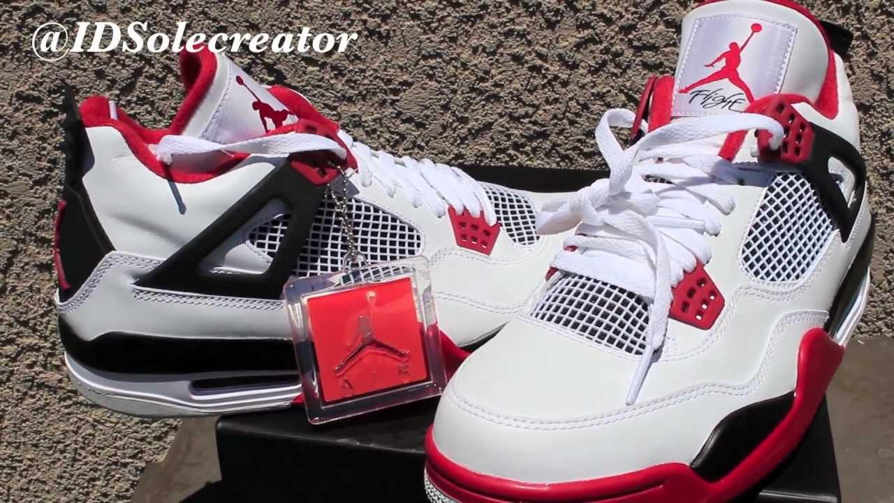 d82796950809 2012 Release PICK-UP- Nike Air Jordan Retro 4 Fire Red Mars  HD ...