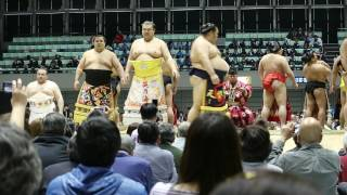 2017年4月 姫路市立中央体育館にて.