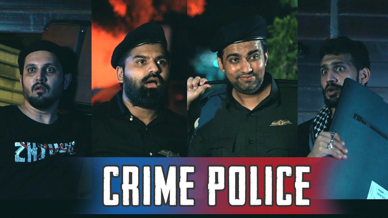 CRIME POLICE | Comedy Skit | Karachi Vynz Official