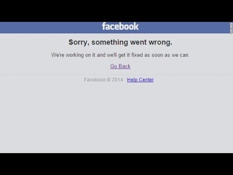 Front Desk : Facebook and Instagram down