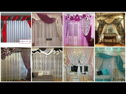 65+ Stylish & Beautifull Curtains Designs || Silk and Chiffon Fabric Curtains
