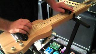 "SX Lap Pro-Lap Steel /""Cathedral""  by Darin Dieu"