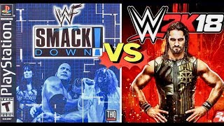 Wwe 2k18 Now On Android Original Wwe Ps1 Game Remodified Latest Mod