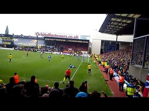 Leicester City penalty and Watford goal playoff 2nd leg