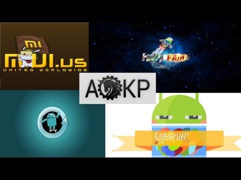 5 Best Custom Android ROMs 2013 part. 1
