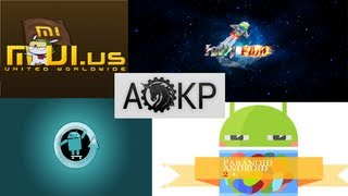 5 Best Custom Android ROMs 2013 part. 1
