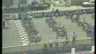Jorge Martinez Aspar.  GP San Marino 1984. 80cc