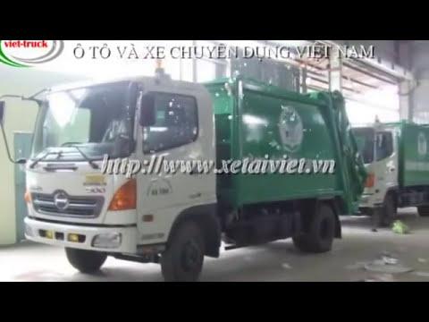 Xe ép rác, xe ép rác, chở rác dongfeg - 091 16 18 222