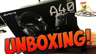 astro a40 tr unboxing ps4