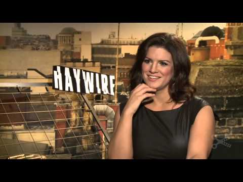 Haywire   Gina Carano Extensive Interview 2012   HD Movie