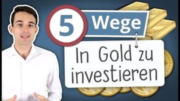 5 Wege in Gold zu investieren | Gold kaufen für Anfänger