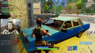 FORTNITE - Why? Because every game, the mic is bugged and everyone wants a guy with a mic so