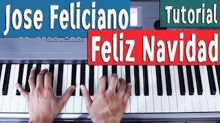 Feliz Navidad - Jose Feliciano - Piano Tutorial by Juan Diego Arenas