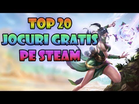 TOP 20 JOCURI GRATIS DE PE STEAM | CELE MAI TARI JOCURI PENTRU PC