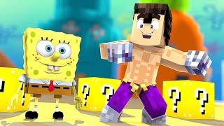 Soy Bob Esponja En Minecraft Lucky Blocks Willy Vs Fargan Vs Vegetta