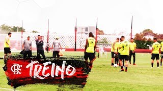 Flamengo treina para a final da Taça Rio contra o Vasco