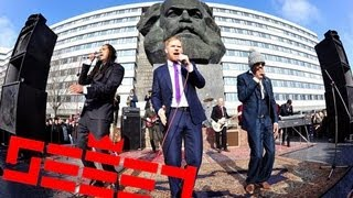 "SEEED - ""DEINE ZEIT"" - (OFFICIAL MUSIC VIDEO) CHEMNITZ - KARL MARX KOPF - MUSIKCLIP"