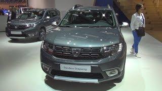 Dacia Sandero Stepway Celebration TCE 90 Start&Stop 5MT (2018) Exterior and Interior