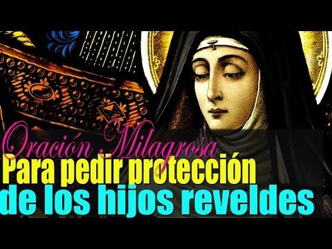 Oración breve y Milagrosa a Santa Mónica para pedir la protección y cambio de Hijos Rebeldes