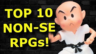TOP 10 JRPGs NOT by Square-Enix!