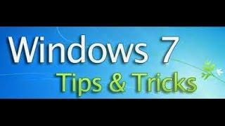 AWESOME windows 7 tricks