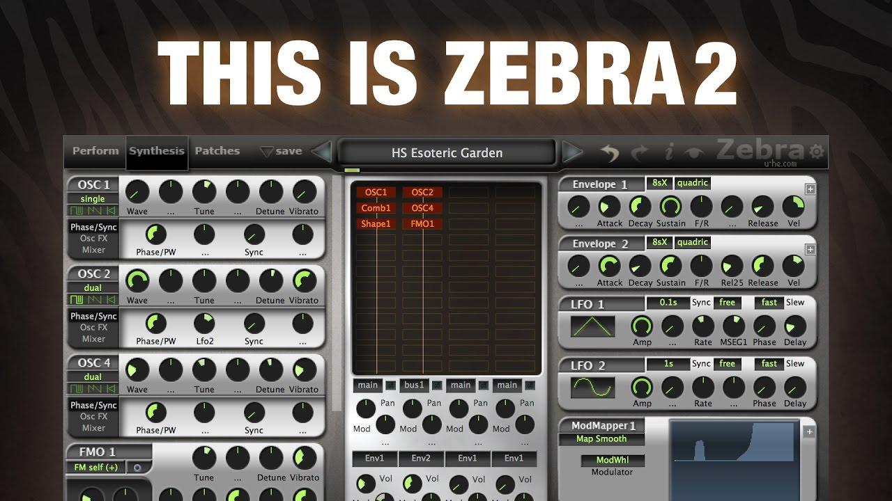 Zebra2: The workhorse synth   u-he