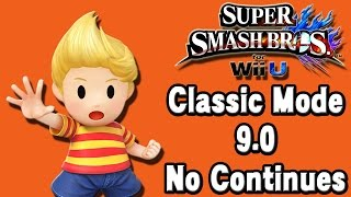 Super Smash Bros. For Wii U (Classic Mode 9.0 No Continues | Lucas) 60fps