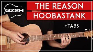The Reason Acoustic Guitar Tutorial Hoobastank Guitar Lesson |Lead + Chords + TABs|