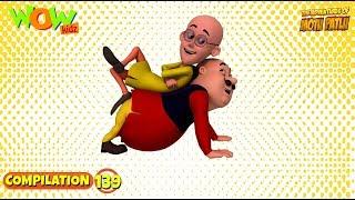 Motu Patlu - Non stop 3 episodes | 3D Animation for kids - #139