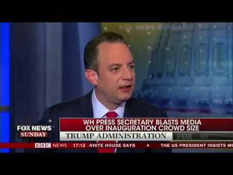 White House Chief of Staff Reince Priebus on media 'We are going to fight back'