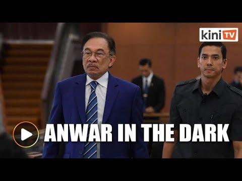 Anwar in the dark over aide's arrest