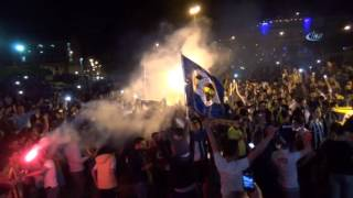İskenderun'da Avrupa Şampiyonu Fenerbahçe Coşkusu