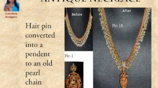 Redesigning Your Old World Jewellery