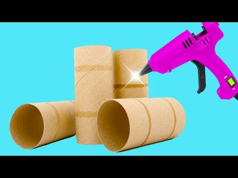 3 EASY GIFT IDEAS with cardboard tubes  - Ecobrisa DIY