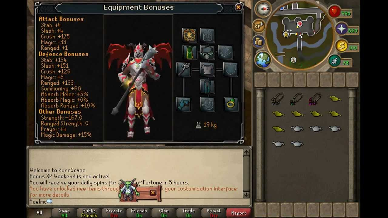 Runescape Krills Godcrusher Solomon Store Outfit Demon Armour