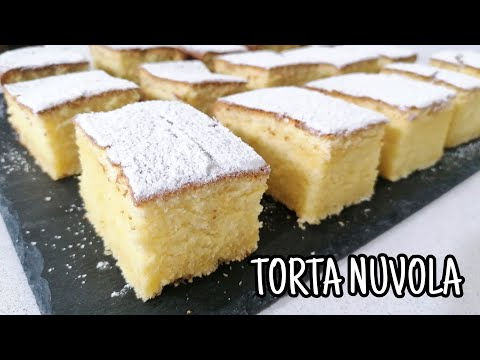 Torta Nuvola! La miglior torta per la prima colazione! ☁❤