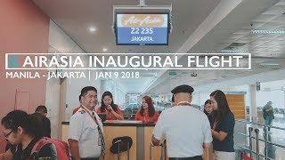 Video Jakarta Vlog 01: On Board the AirAsia Manila Jakarta Inaugural Flight download MP3, 3GP, MP4, WEBM, AVI, FLV Agustus 2018
