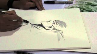 Francis Manapul Paints The Flash