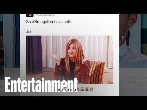 Angelina Jolie & Brad Pitt Divorce: Twitter Reacts | News Flash | Entertainment Weekly
