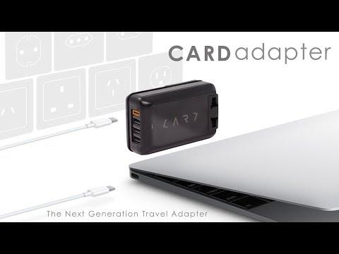【CARD】首創 USB Type-C 多埠全球旅用萬國插座 (白色)