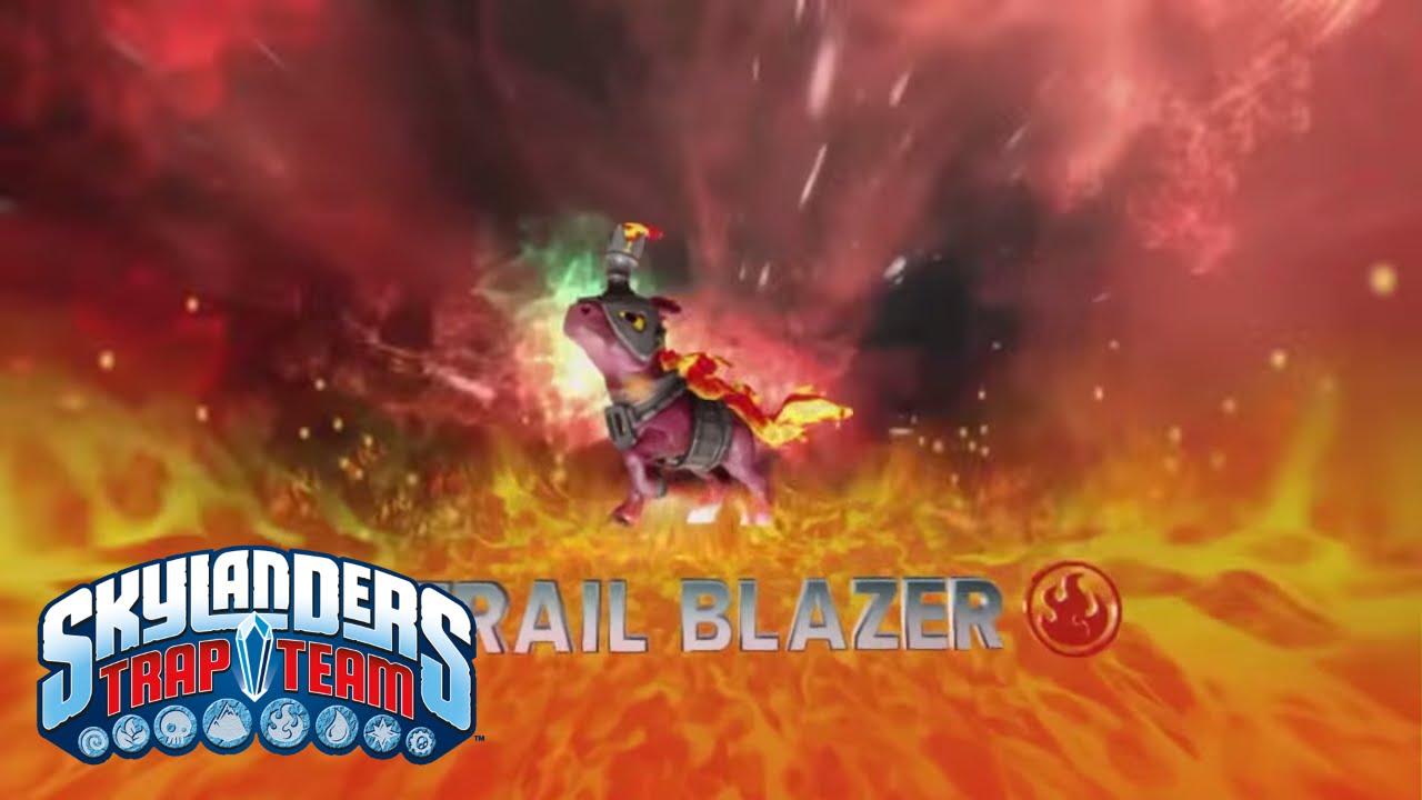 meet the skylanders trail blazer l skylanders trap team l