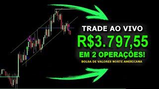 🔴 Day Trade Ao VIVO L R3.79755 Em 2 Operações No Mercado De Capitais