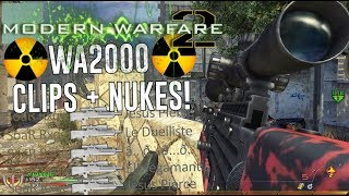 ATTEMPTING WA2000 CLIPS AND NUKES! | MW2 PC Gameplay