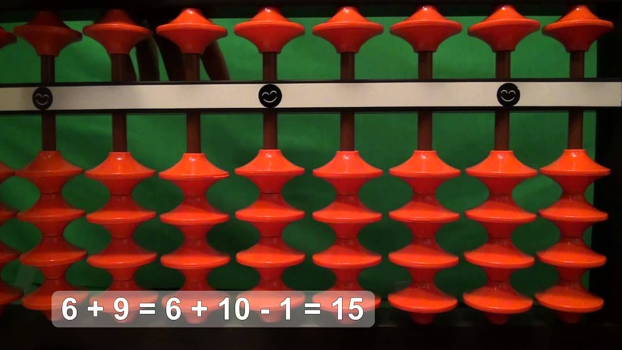 Easy Addition With The Abacus Soroban 1 Digit 1 Digit Part 3 Abacus Teaching Numbers Fun Math [ 720 x 1280 Pixel ]